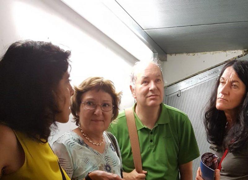 v.lks.: Angestellt Rathaus Nürnberg, Christa Büttner, Dr. Victopr Trapp, Andrea Schmidt