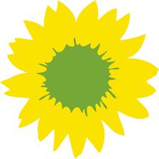 Sonneblumen-Logo Bündnis 90/Die GRÜNEN