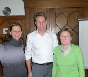 v.lks.: Angela Hufnagel, Ludwig Hartmann, Christa Büttner