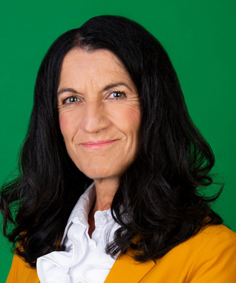 GRÜNE OB-Kandidatin Andrea Schmidt, GRÜNE Liste Platz 1
