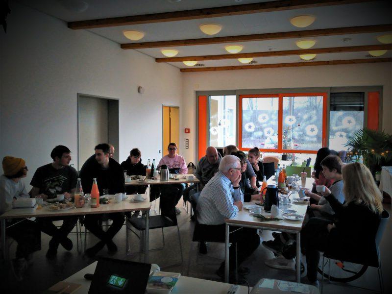 Workshop GRÜNE Weihnachten. Die Teilnehmer.