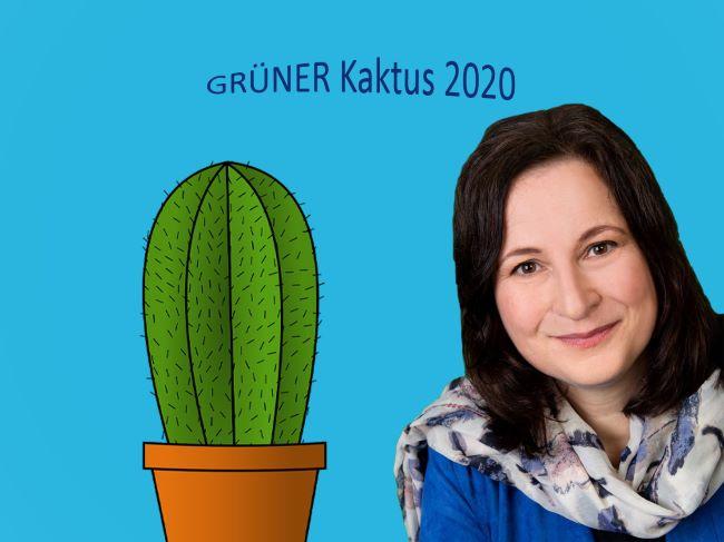 Eva Trapp organisiert den GRÜNEN Kaktus 2020