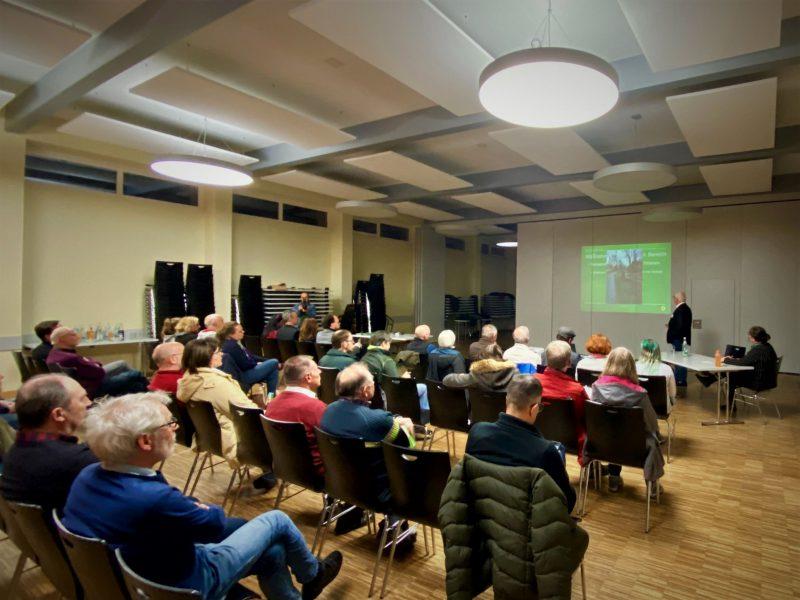 Vortrag Ortsverband GRÜNE Kitzingen im Stadtteilzentrum