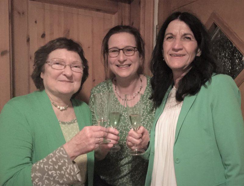 v.lks.: Christa Büttner, Eva Trapp, Andrea Schmidt