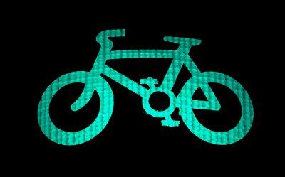 Grün für Fahrräder