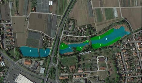 Ankauf Fischteiche hinter Amt für Landwirtschaft – Schaffung von Retentionsraum und Renaturierung des Rödelbaches