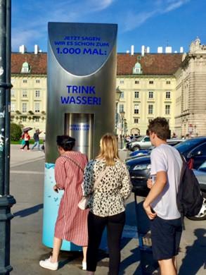 Trinkwasserspender in Wien